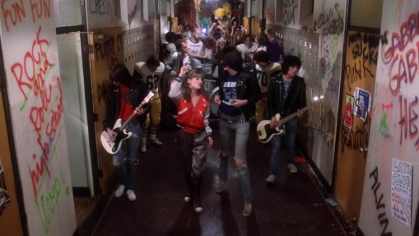 Image credit New World Pictures, Rock 'n' Roll High School, 1979