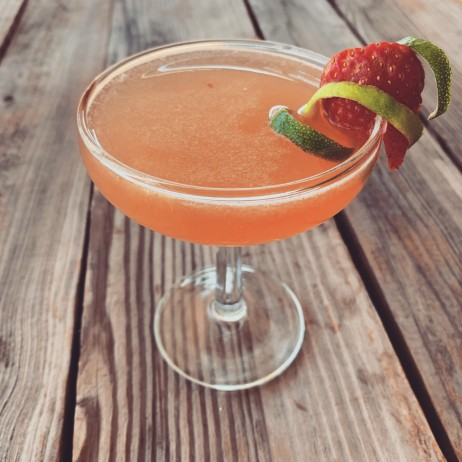 Strawberry Gimlet
